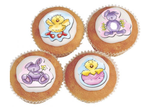 Fluffy Bunnies and Chicks Sugarettes - 42mm