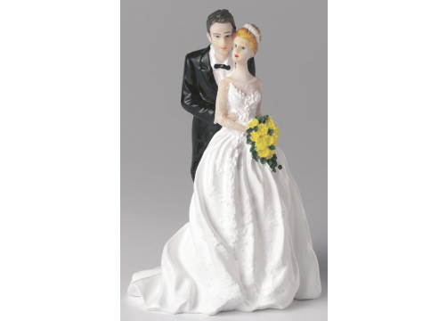 Figurine - Bride and Groom Together