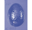 Small Cracked Half Egg Mould