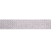 Silver Diamante Trim - Large