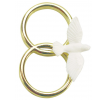 Dove on Double Gold Colour Ring