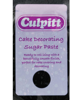 Black 1 x 250g - Culpitt Cake Decorating Sugar Paste