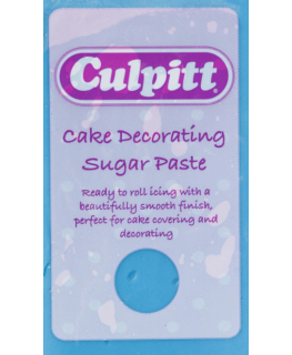 Blue 1 x 250g - Culpitt Cake Decorating Sugar Paste