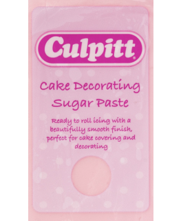 Light Pink 1 x 250g - Culpitt Cake Decorating Sugar Paste