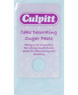 Light Blue 1 x 250g - Culpitt Cake Decorating Sugar Paste
