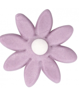 Purple Eight Petal Flower - 560 Pieces