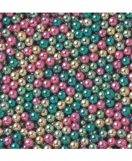 Metallic Harlequin Dragees 4mm - 1kg