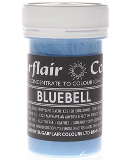 Sugarflair Paste Colours - Pastel Bluebell - 25g