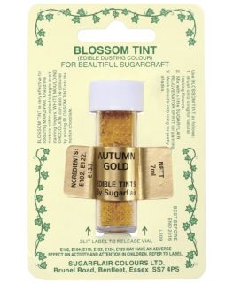 Sugarflair Blossom Tint Dusting Colours - Autumn Gold
