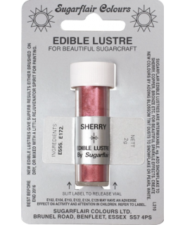 Sugarflair Edible Lustre Colour - Sherry