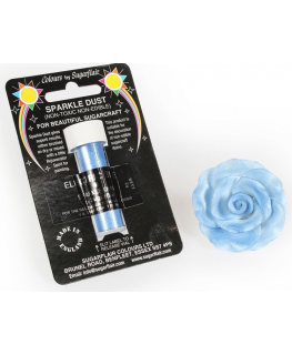 Sugarflair Sparkle Dust Candy - Electric Blue
