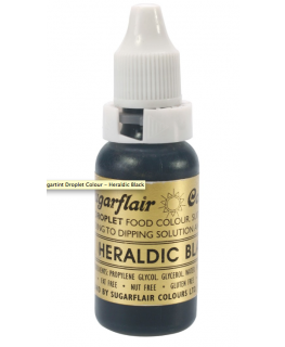 Sugartint Droplet Colours - Heraldic Black