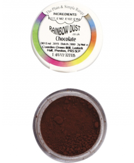 Rainbow Dust Plain and Simple Dust Colouring - Chocolate