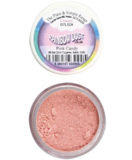Rainbow Dust Plain and Simple Dust Colouring - Pink Candy
