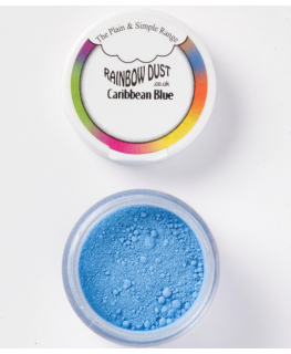 Rainbow Dust Plain and Simple Dust Colouring - Caribbean Blue