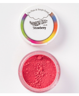 Rainbow Dust Plain and Simple Dust Colouring - Strawberry