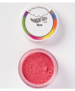 Rainbow Dust Plain and Simple Dust Colouring - Rose