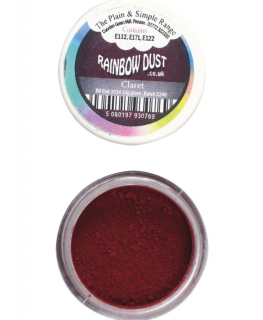 Rainbow Dust Plain and Simple Dust Colouring - Claret