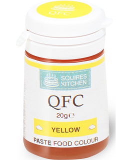 Squires Kitchen Paste Food Colour - Yellow