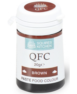 Squires Kitchen Paste Food Colour - Brown
