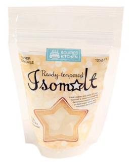 Squires Ready tempered Isomalt - Sparkling Silver