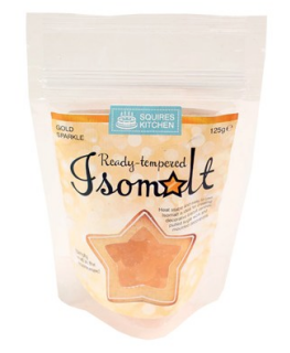 Squires Ready tempered Isomalt - Gold Sparkle