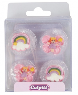 Fairy Sugar Pipings - 12 pack