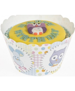 Baby Animals Cupcake Wraps
