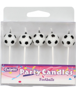 Small Football Candles - single