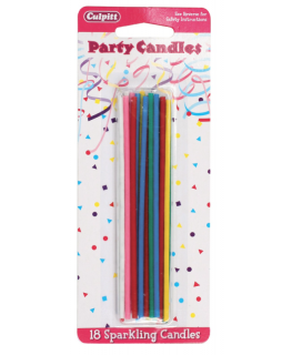 Sparkling Party Candles