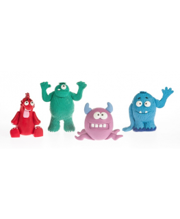 Claydough Monsters Assorted Pack