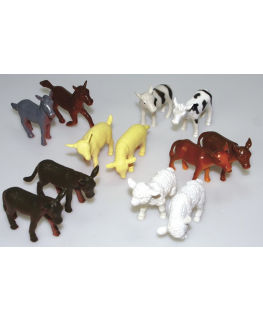 Plastic Farm Animals