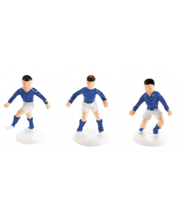 Plastic Small Footballer Blue