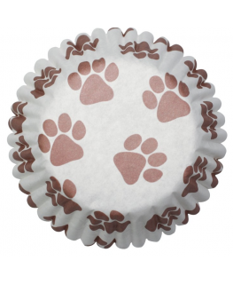 Pawprints Baking Cases