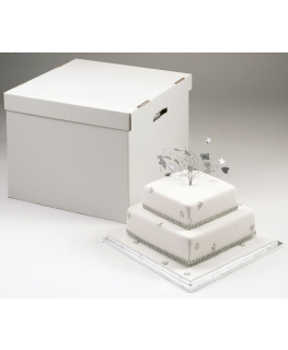 Stacked Cake Box - 10''/12'' (254mm/304mm)