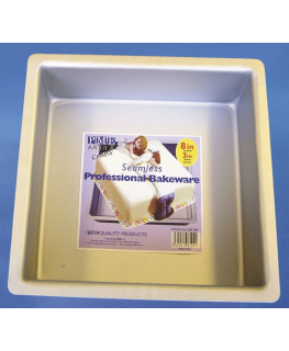 PME Seamless Professional Bakeware - Square 203mm (8'')