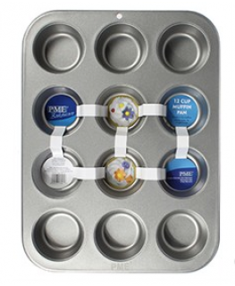12 Cup Muffin Pan 45 x 26.5 x 5cm