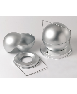 Aluminium Spherical Cake Tin 4lb - 159mm (6.2'')