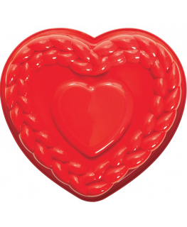 Pavoni Cake Mould Heart 287x264mm