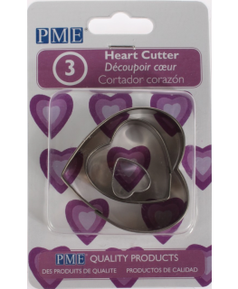 PME Heart Cutter 3 piece