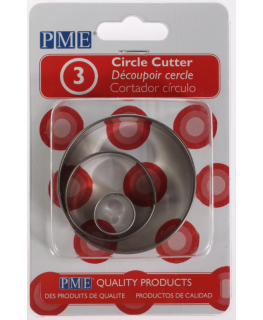 PME Circle Cutters 3 piece
