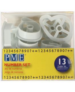 PME Cutter Number Set 13 piece