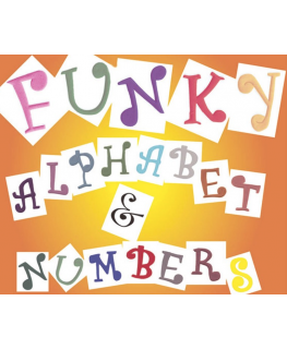 FMM Funky Alphabet and Number Tappit Set