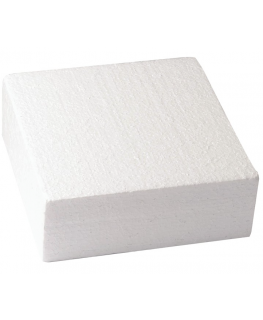 Square 6'' (152mm) Cake Dummies