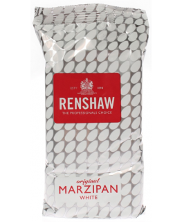 Renshaw - Marzipan - White Rencol - 1 x 500g - single