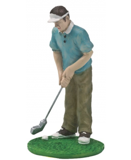Figurine - Resin Male Golfer