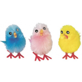 Small Assorted Chenille Chicks - 32mm