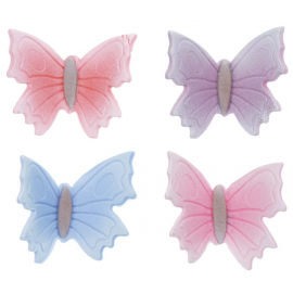 Sugar Butterflies Assorted Colours