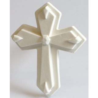 White Gum Paste Cross