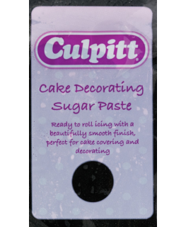 Black 8 x 250g - Culpitt Cake Decorating Sugar Paste